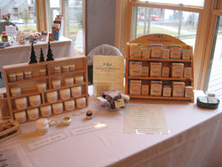 Superior Herbals display