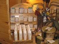 Superior Herbals display at Great Gifts, Lutsen